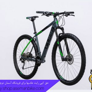 دوچرخه کوهستان کراس کانتری کیوب مدل آنالوگ سایز ۲۷.۵ خاکستری تیره/سبز 2017 Cube Mountain Bicycle Analog 27.5 2017