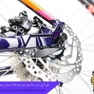دوچرخه بانوان کیوب مدل اکسز دبلیو ال اس پرو سایز 29 آئوبرجین/صورتی 2017 Cube Bicycle Access WLS Pro 29 Lady 2017