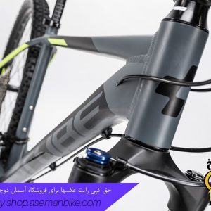 دوچرخه کوهستان کراس کانتری کیوب مدل اسید 2 ایکس سایز ۲۷.۵ 2017 خاکستری تیره/زرد Cube Mountain Bicycle Acid 2X 27.5 2017