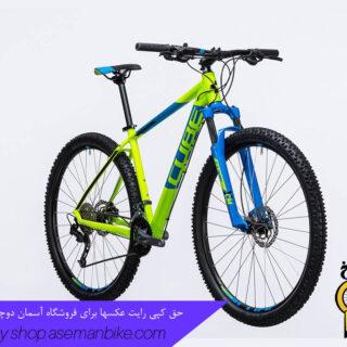 دوچرخه کوهستان کیوب مدل آیم اس ال سایز ۲۷٫۵ سبز کیوی/آبی CUBE Mountain Bike AIM SL 2017
