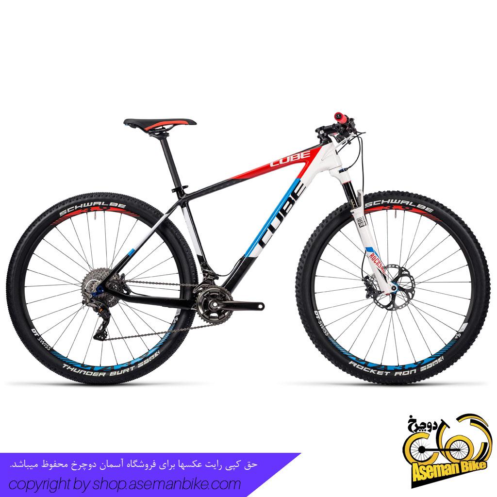 دوچرخه کوهستان کراس کانتری مسابقات کربن کیوب مدل الیت سی 68 ریس 2 ایکس سایز ۲۷.۵ 2016 CUBE Elite C68 Race 2X 2016