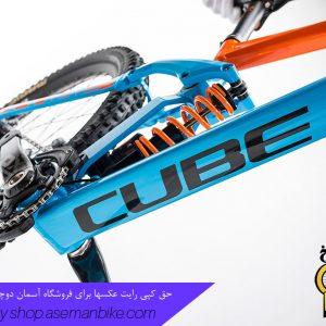 دوچرخه دانهیل کیوب مدل تو15 اچ پی ای - اس ال سایز 27.5 2017 آبی نارنجی Cube Downhill Bike TWO15 HPA SL 27.5 2017