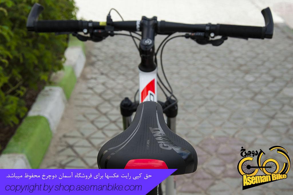 دوچرخه اسپورت جاینت مدل ای تی ایکس 830 سایز 27.5 2018 سفید قرمز Giant Sport Bicycle ATX 830 27.5 2018