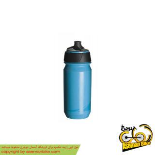 بطری آب دوچرخه تکس مدل شانتی تویست ۵۰۰ سی سی آبی Tacx Bottle Shanti Twist 500cc