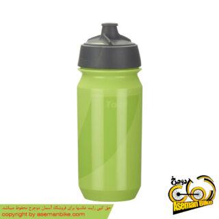 بطری آب دوچرخه تکس مدل شانتی تویست 500 سی سی سبز Tacx Bottle Shanti Twist 500cc