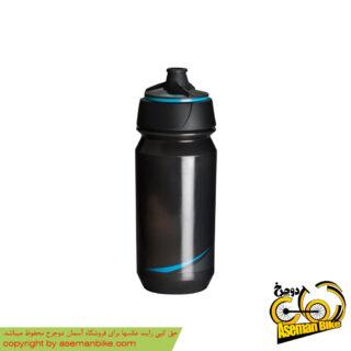 بطری آب دوچرخه تکس مدل شانتی تویست 500 سی سی دودی آبی Tacx Bottle Shanti Twist 500cc