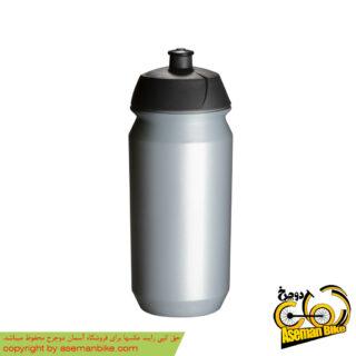 بطری آب دوچرخه تکس مدل شیوا 500 سی سی نقره ای Tacx Botle Shiva 500cc Silver