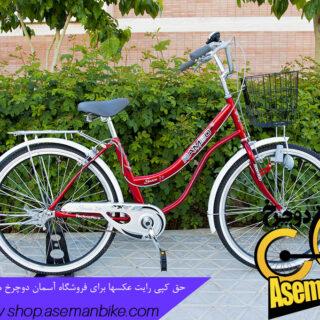 دوچرخه رامبو دخترانه گریس سایز 26 Rambo Grace Lady 26 2018