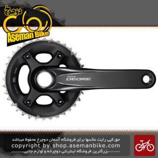 طبق قامه دوچرخه شیمانو دیور اف سی 6000 2 سرعته Shimano FC-M6000 2 DEORE 10-SP 36-26T