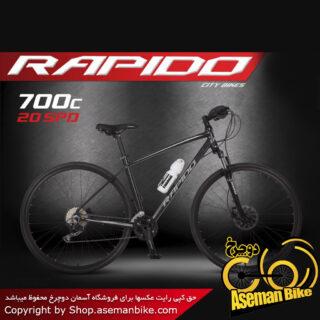 دوچرخه شهری و جاده ای راپیدو مدل پلاتینا سایز 26 2017 Rapido Pelatina