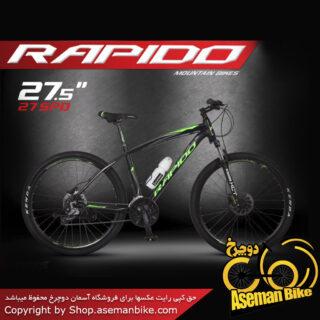 دوچرخه کوهستان راپیدو مدل پرو5 سایز 27.5 2017 Rapido Pro5 27.5
