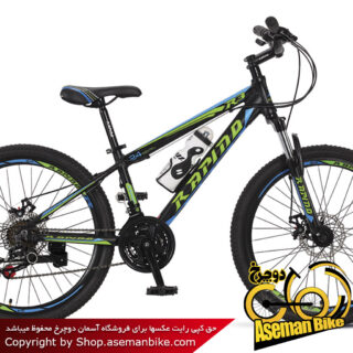 دوچرخه کوهستان راپیدو مدل R3D سایز 24 سال 2017 Rapido R3D