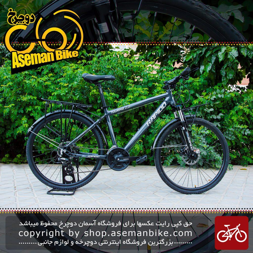 دوچرخه شهری راپیدو مدل تورینگ 2دی سایز 26 2017 Rapido Touring 2D