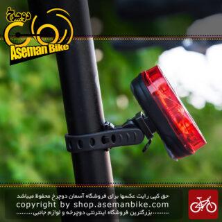 چراغ عقب دوچرخه شارژی مدل ایکس سی 179 XC-179R Tail Light Red LED