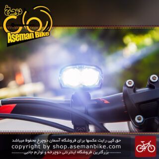 چراغ جلو دوچرخه شارژی Bicycle Safety Light