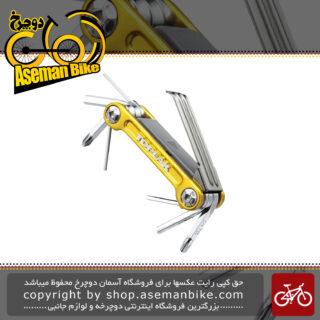 مجموعه ابزار چند کاره تاپیک مدل Mini 9 Pro Gold