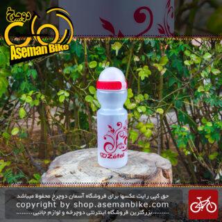 قمقمه دوچرخه زفال قرمز ۷۵۰ سی سی Zefal Bicycle Bottle
