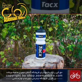 قمقمه تیمی دوچرخه آبی تکس مدل ساکسو 750 سی سی Tacx Tinkoff Saxo Team