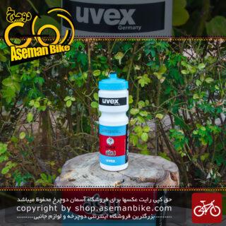 قمقمه تیمی دوچرخه یووکس آبی قرمز مدل آسو 750 سی سی Uvex Astana Asu Team