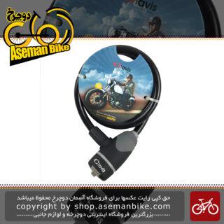 قفل دوچرخه کلاویس مدل 12-1200 Cable lock Clavis