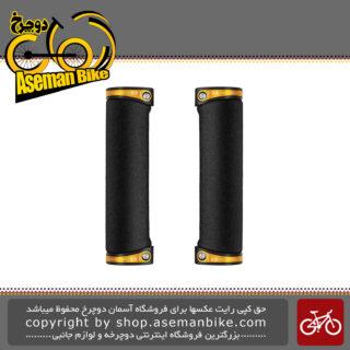 گریپ دوچرخه کرنک برادرز مدل کبالت طلایی Grip Bicycle Crank Brothers Cobalt Gold