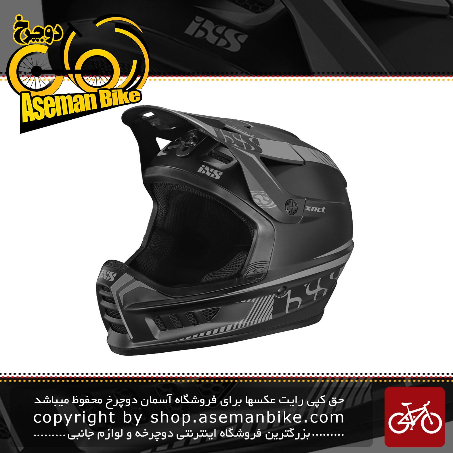 کلاه ایمنی دوچرخه آی ایکس اس مدل IXS Helmet Xact Black-SM