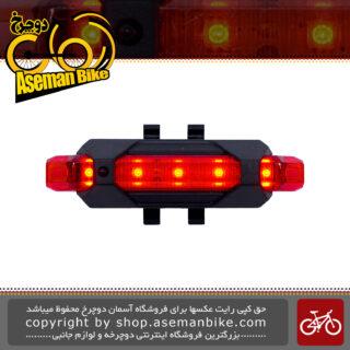 چراغ عقب دوچرخه شارژی مدل ام کی ال 780 MKL-780 Light Red LED