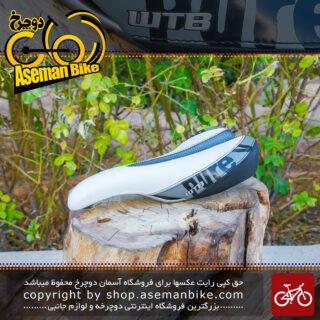 زین دوچرخه دبلیو تی بی سفید مدل پیور وی WTB Saddle White Pure V