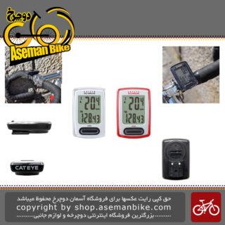 کیلومتر شمار دوچرخه کت آی مدل ولو بیسیم 8 کاره Cat Eye Odometer Velo Wireless 8 Functions