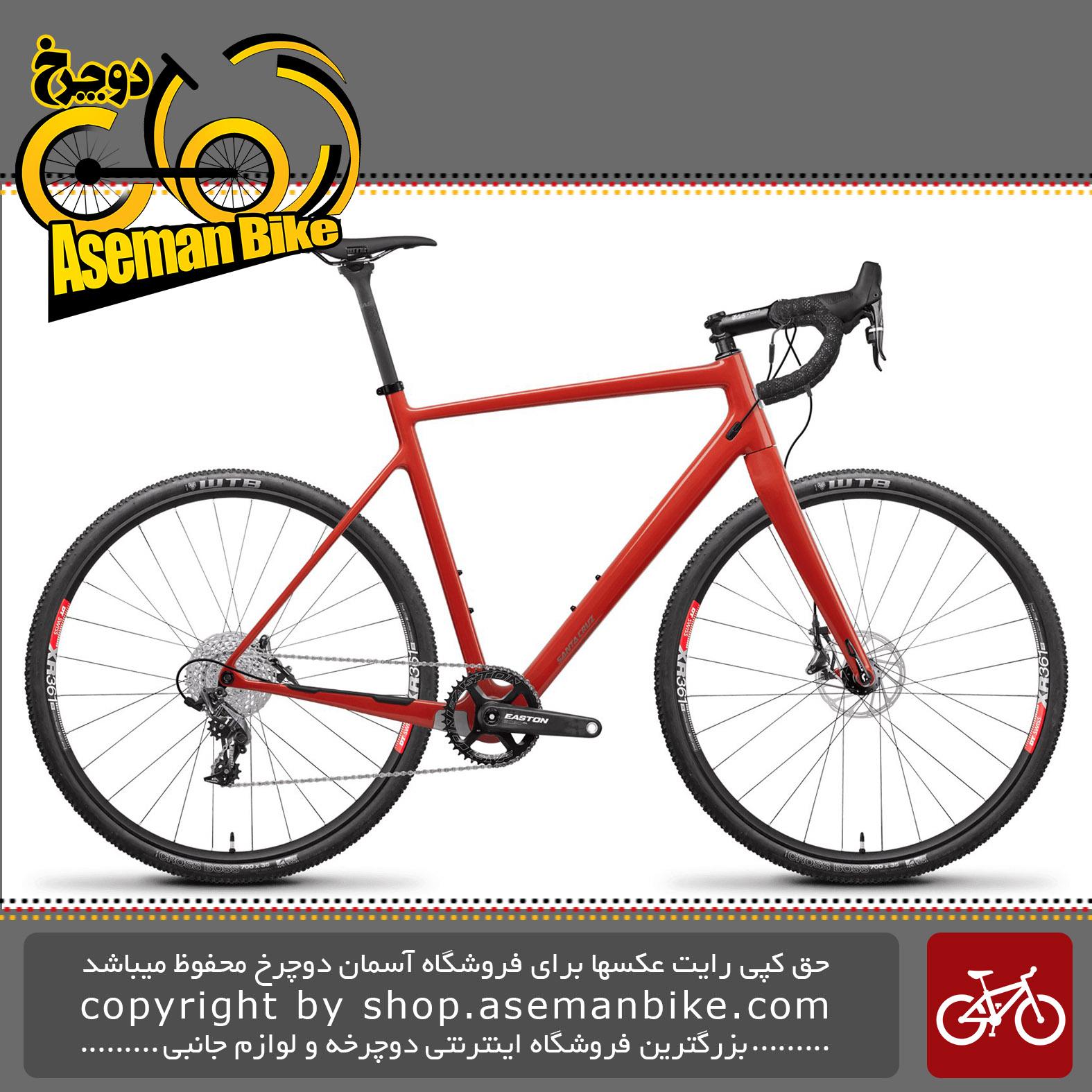 دوچرخه جاده سانتاکروز استیگماتا 2.1 کربن 2018 Santa Cruz STIGMATA 2.1 CARBON CC CX1 Cyclocross Bike - 2018
