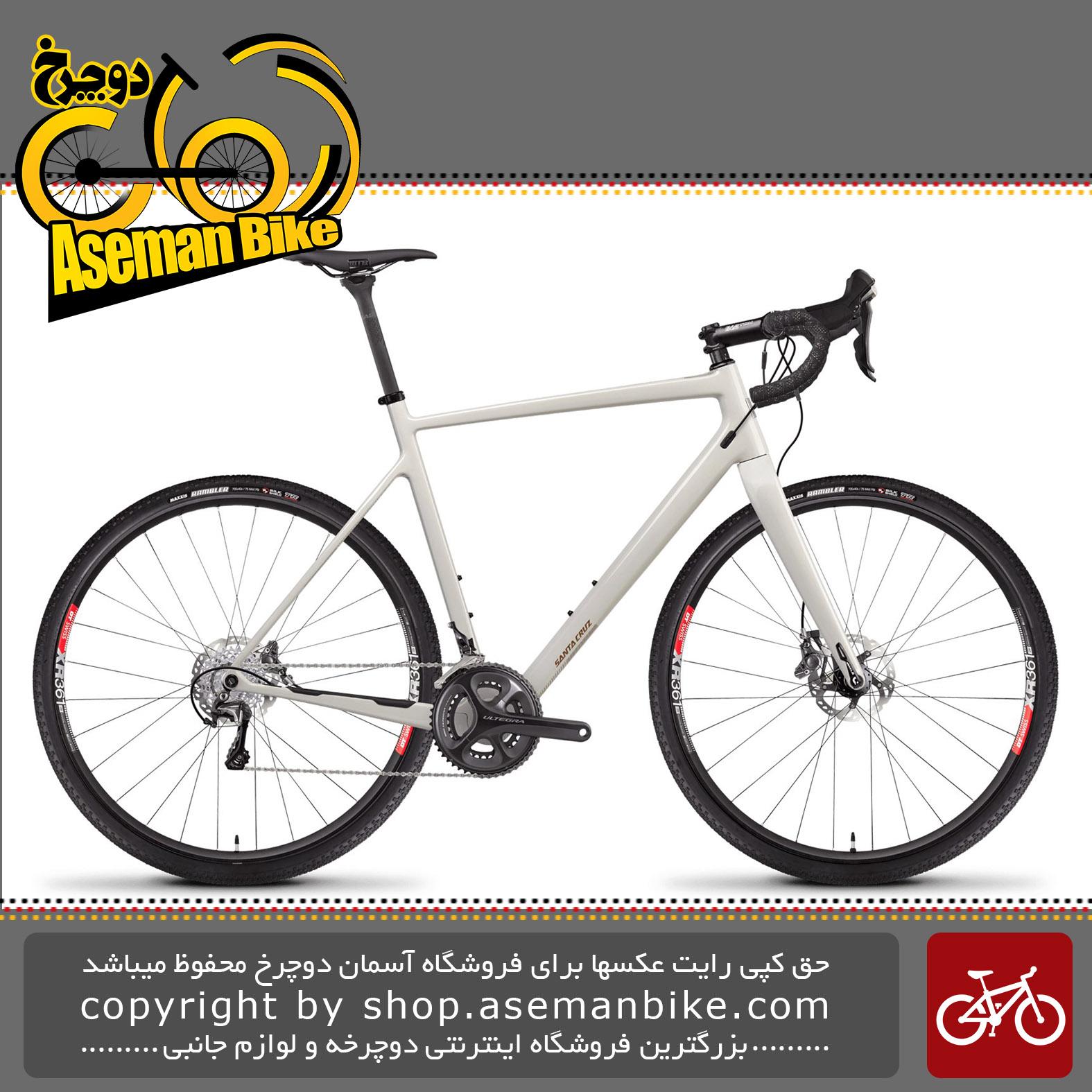 دوچرخه جاده سانتاکروز استیگماتا 2.1 کربن ست اولتگرا 2019 Santa Cruz STIGMATA 2.1 CARBON CC Ultegra Cyclocross/Gravel Bike - 2019