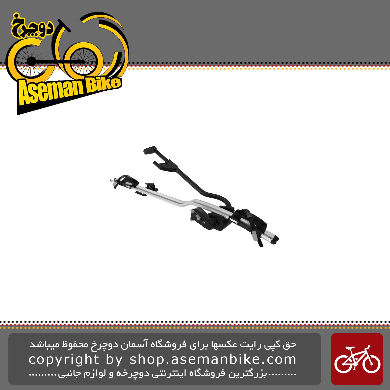 باربند مخصوص حمل دوچرخه تول سقفی مدل پرو راید سیلور Thule ProRide Silver