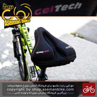 روکش زین دوچرخه ژله ای ولو ژل تِک Velo Gel Tech Gel Bicycle Saddle