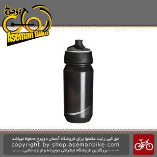 بطری آب دوچرخه تکس مدل شانتی تویست 500 سی سی دودی سفید Tacx Bottle Shanti Twist 500cc