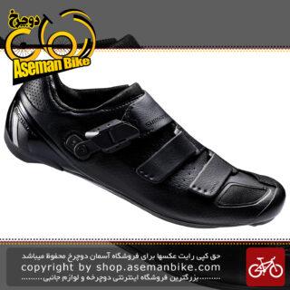 کفش دوچرخه سواری لاک قفل شیمانو کورسی جاده مدل آر پی 9 Shimano SH-RP9 Road Bike Shoes Black