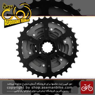 خودرو دوچرخه شیمانو مدل اسرا اچ جی 200 هشت سرعته کوهستان Shimano Acera HG200 8 Speed MTB Cassette