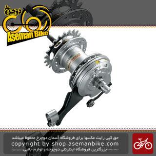 توپی دوچرخه شیمانو گیربوکس 3 دنده نکسوز Shimano Nexus SG-3R40 INTER-3 Rear Hub (3-speed)