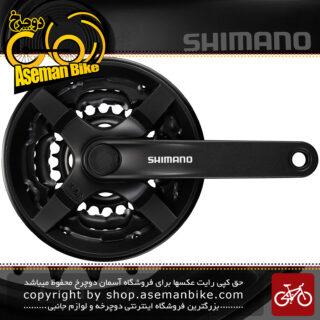 طبق قامه دوچرخه شیمانو تورنی اف سی-تی وای 301 Shimano FC-TY301 Tourney Crankset – 7 8 Speed