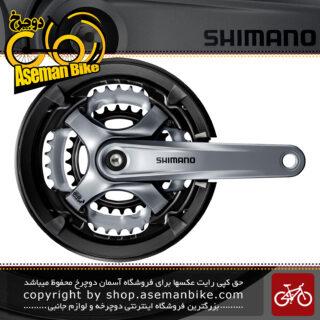 طبق قامه دوچرخه شیمانو تورنی اف سی-تی وای 701 Shimano FC-TY701 Tourney Crankset - 7 8 Speed