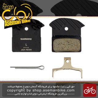 لنت ترمز دیسکی دوچرخه شیمانو جی 04 سی Shimano Disc Brake Pads Ice-Tec J04C (Metal)