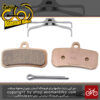 لنت ترمز دیسکی دوچرخه شیمانو متال دی اس 02 اس Shimano D02S Metal Disc Brake Pad & Spring
