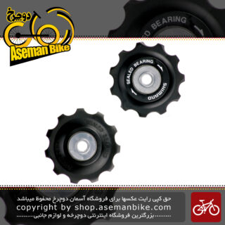 قرقره شانژمان شیمانو مدل ام 773 Shimano RD-M773 Tension Guide Pulley Set Jockey Wheels Gear Mech Derailleur Bike