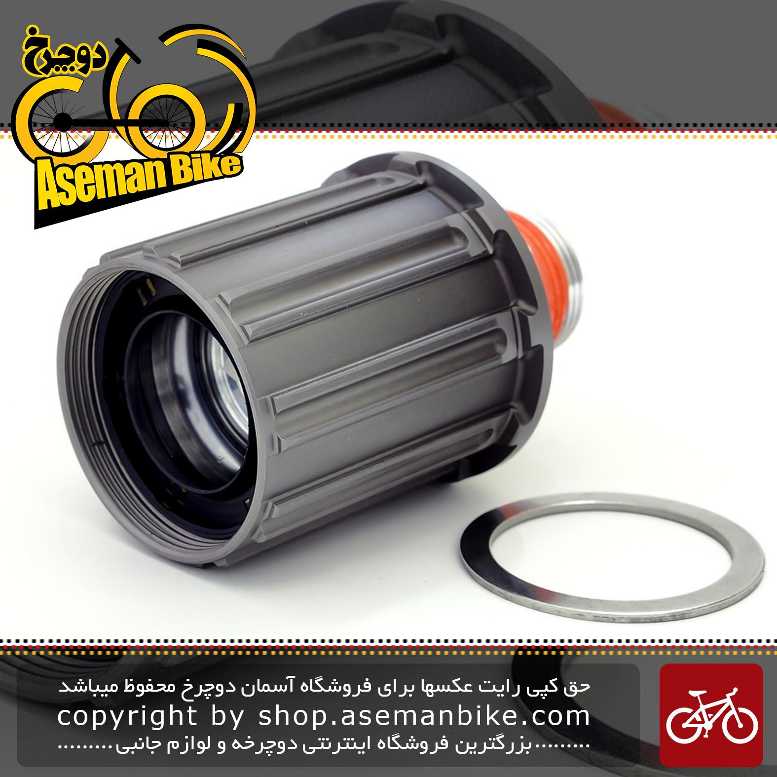 مغری خودرو دوچرخه شیمانو دورا ایس 11 سرعته Shimano WH-9000 Complete Freewheel Body 11Speed