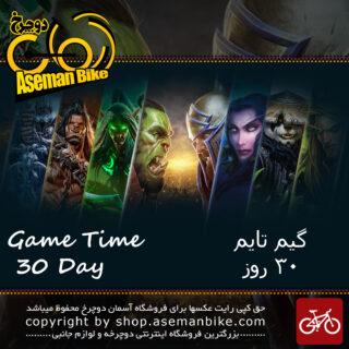 گیفت کارت گیم تایم 30 روزه WoW - نسخه اروپا Game Time 30 Day Euro Gift Cart