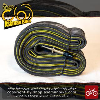 تیوپ دوچرخه کندا سایز 28 یا 700*35-43 سی والف بلند سوزنی پرستا فرانسوی Tube Bicycle Kenda Size 700x35-43C FV 25T Persta Valve 48mm L