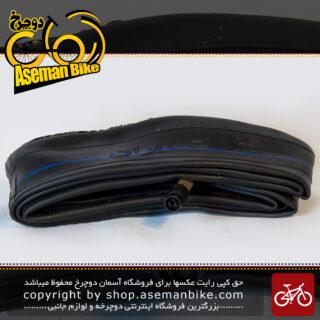 تیوپ دوچرخه شهاب تایر سایز 26 در 2.10تا 2.40 والف موتوری آمریکایی Tube Bicycle Shahab Tire Size 26x2.10 - 2.40 SV AV Valve