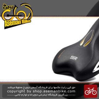 زین دوچرخه سله رویال ساخت ایتالیا مدل لوکین اتلتیک رویال ژل Selle Royal Bicycle Saddle Lookin Athletic Royalgel