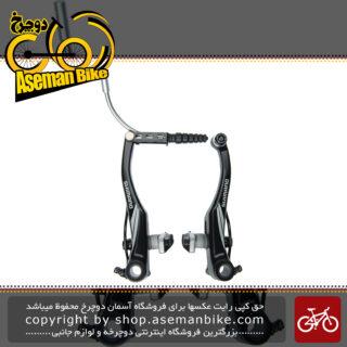 ترمز ویبریک دوچرخه شیمانو مدل آسرا ام 432 با قابلیت شارژ مجدد لنت Shimano Bicycle Acera V-Brake BR M432 Charging pads