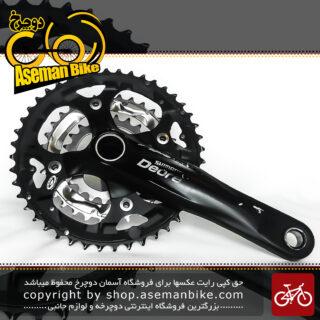 طبق قامه دست دوم دوچرخه شیمانو مدل دیور اف سی – ام 532 44 و 32 و 22 دندانه Shimano Crankset Bicycle Deore FC-M532 44X32X22T