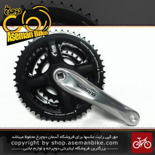 طبق قامه دوچرخه شیمانو مدل اف سی –تی ایکس 71 48 و 38 و 28 دندانه Shimano Crankset Bicycle FC-TX71 48X38X28T 170mm